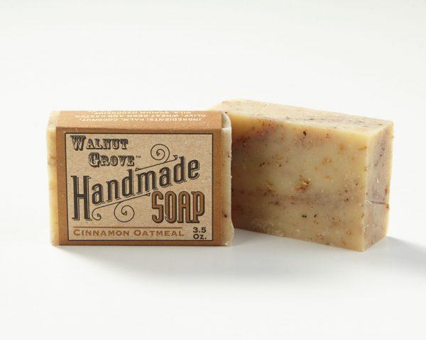 Cinnamon Oatmeal Handmade Soap Minnesota