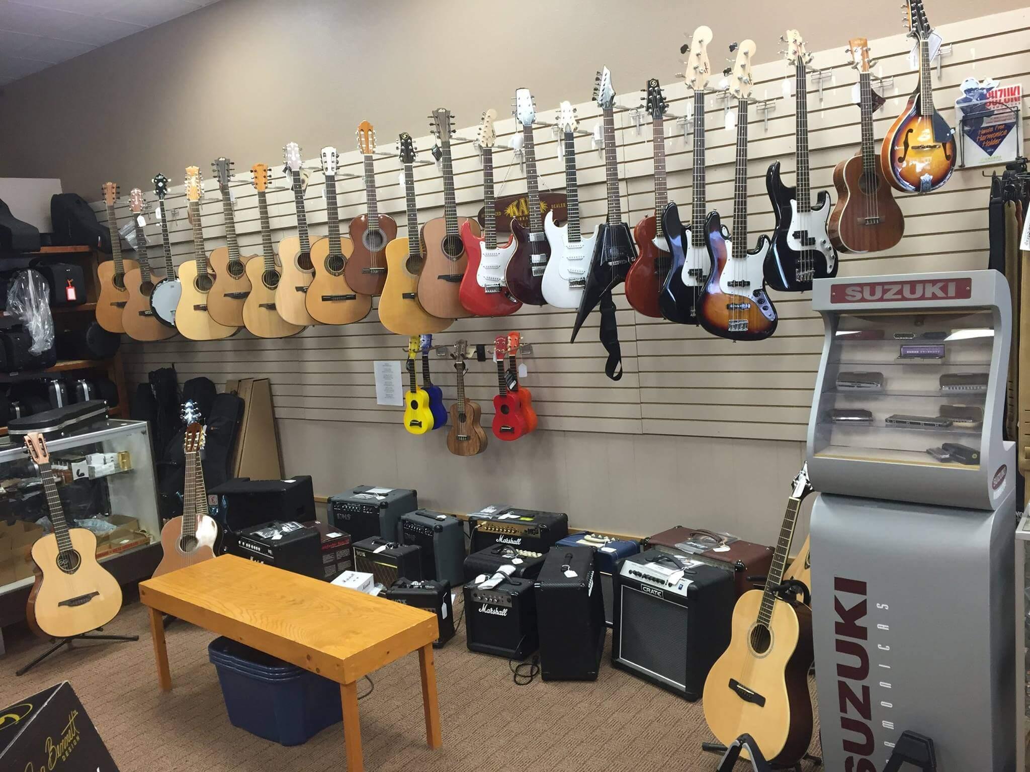 Music Street Shopping in Marshall, MN