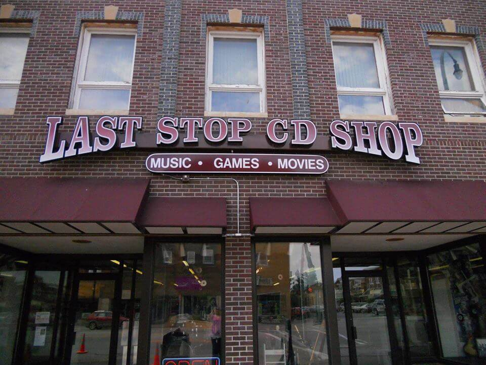 Last Stop CD Shop Shopping in Marshall, MN
